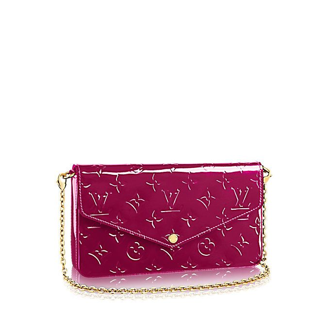 342f50be978 Pochette Félicie Monogram Vernis Leather Women Small Leather Goods Wallets