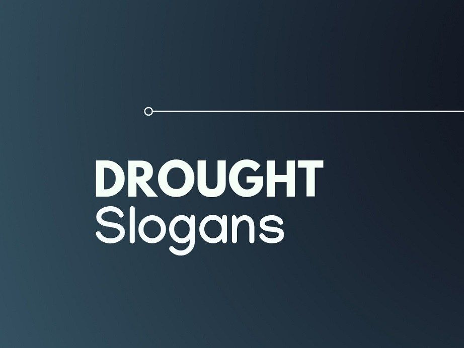 179 Brilliant Slogans On Drought Business Slogans Catchy