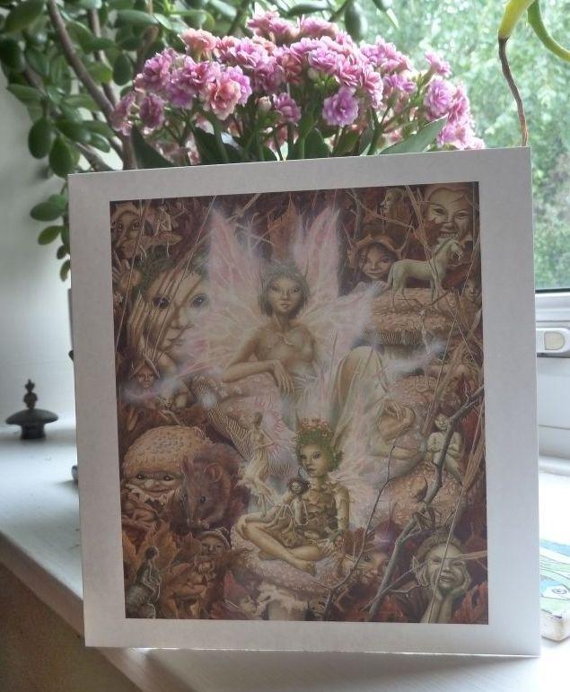 una woodruff faeries greeting cards