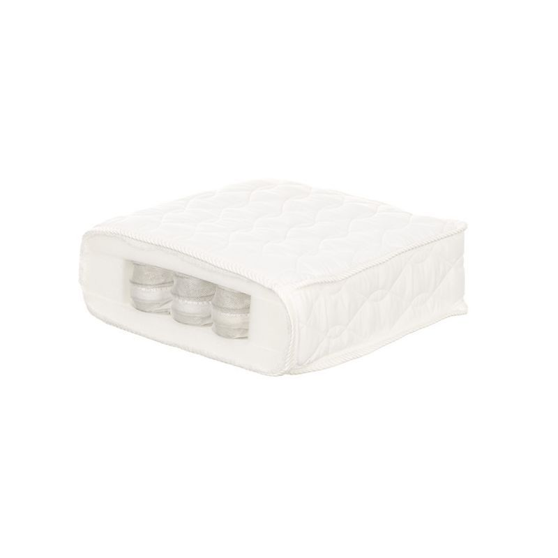 OBaby Pocket Sprung Mattress For Cot Bed (140 x This high quality pocket sprung mattress has individual pocketed springs giving increased support to your babys back, neck and head. Includes a luxury removable cover with brushed cotton feel. Feature http://www.MightGet.com/march-2017-1/obaby-pocket-sprung-mattress-for-cot-bed-140-x.asp