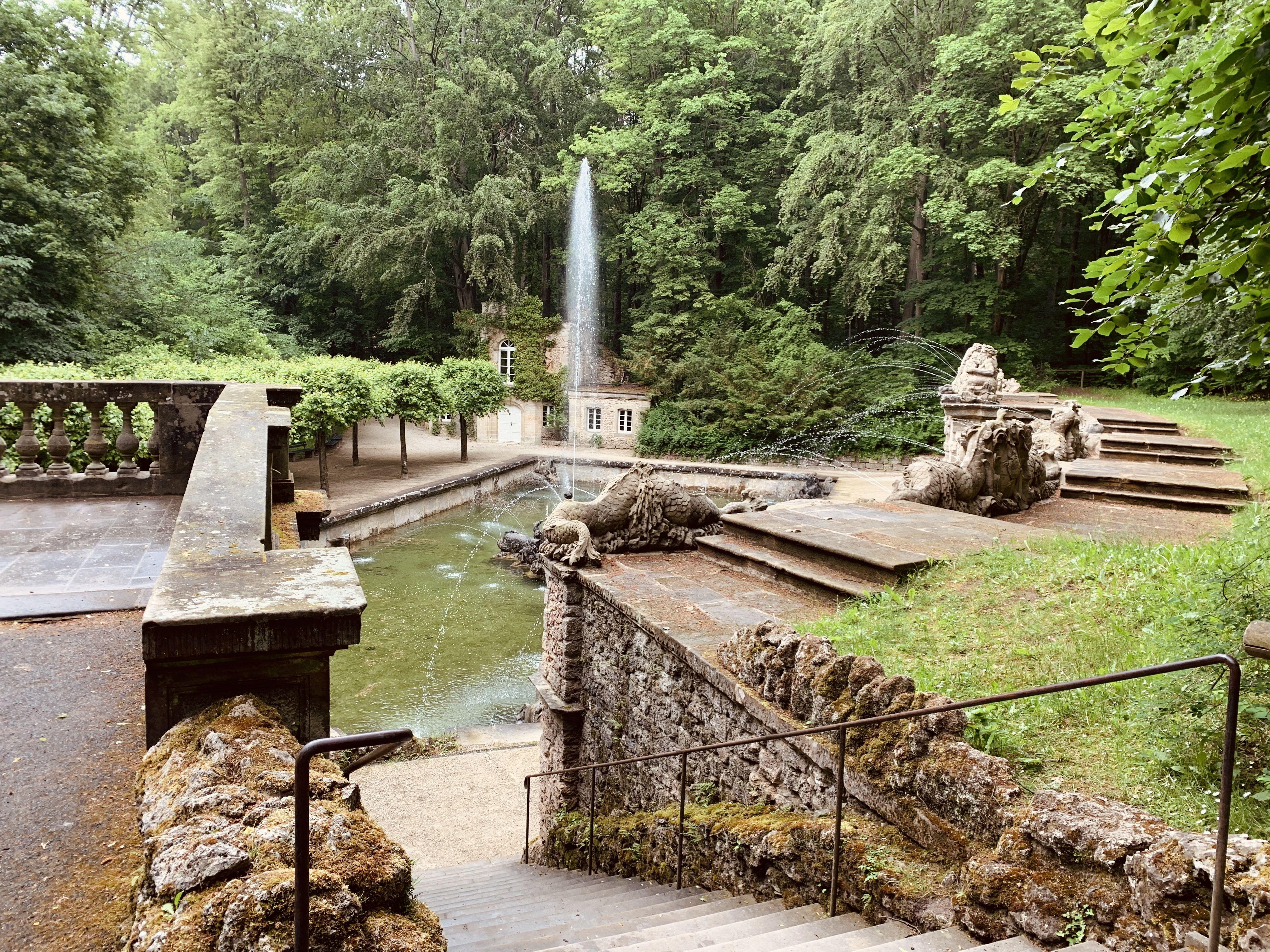 Untere Grotte In Der Eremitage Bayreuth In 2020 Bayreuth Sehenswurdigkeiten Reisen