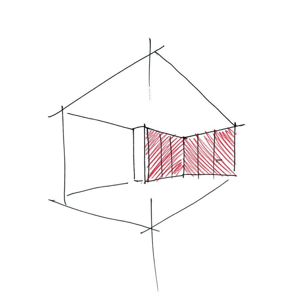 Com uma tipologia invulgar, consequência da adequação de um programa específicoa um terreno de geometria difícil para o efeito, este projecto constitui um interessante desafio, encaminhando-nos pa…