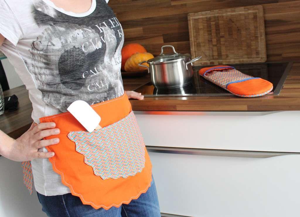 Schnittmuster küchenschürze ~ Freebook kostenloses schnittmuster free pattern für eine