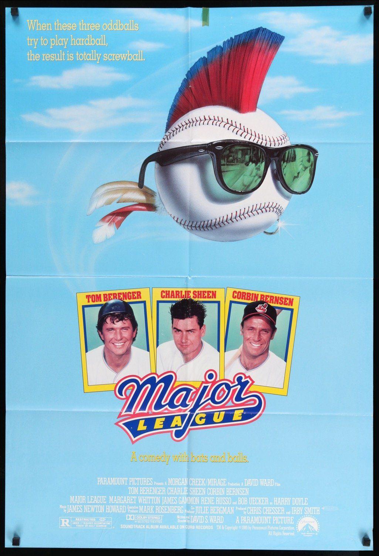 Major League 1989 In 2021 Major League Movie Baseball Movies Charlie Sheen