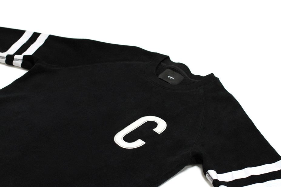 STAMPDx424 BLACK CREWNECK – FourTwoFour on Fairfax Back To School Sales,  Crew Neck, The dded151afaa