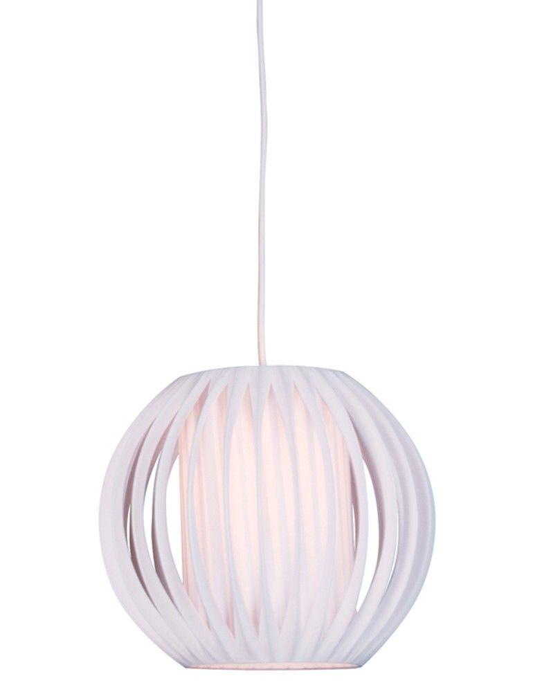 Speelse witte ronde kinderkamer hanglamp  Kinderkamer