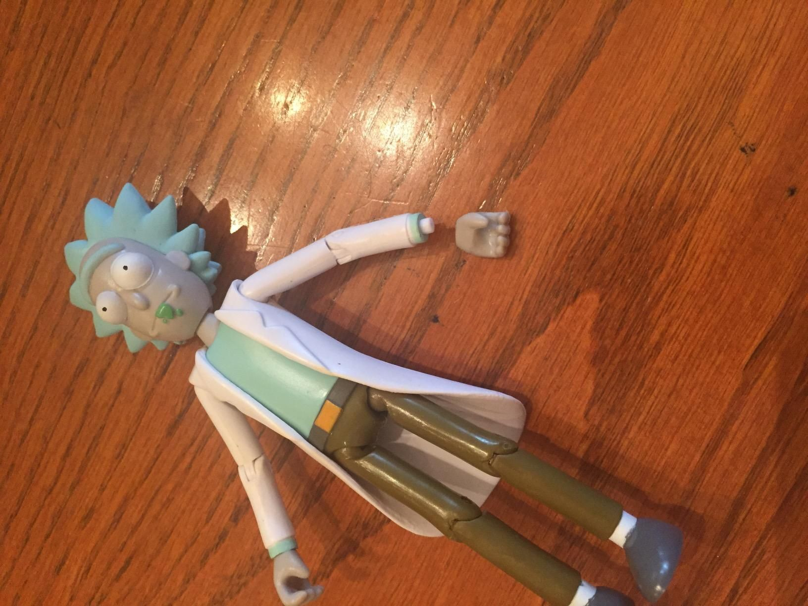 """Funko 5/"""" Articulated Rick and Morty Rick Action Figure"""