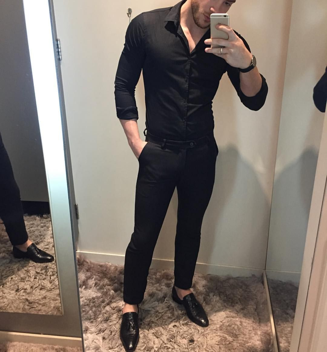 6 028 Curtidas 35 Comentarios Modern Men Casual Style Modernmencasualstyle No Instagram Yes Or No Black Shirt Outfit Men Shirt Outfit Men Men Casual [ 1164 x 1080 Pixel ]