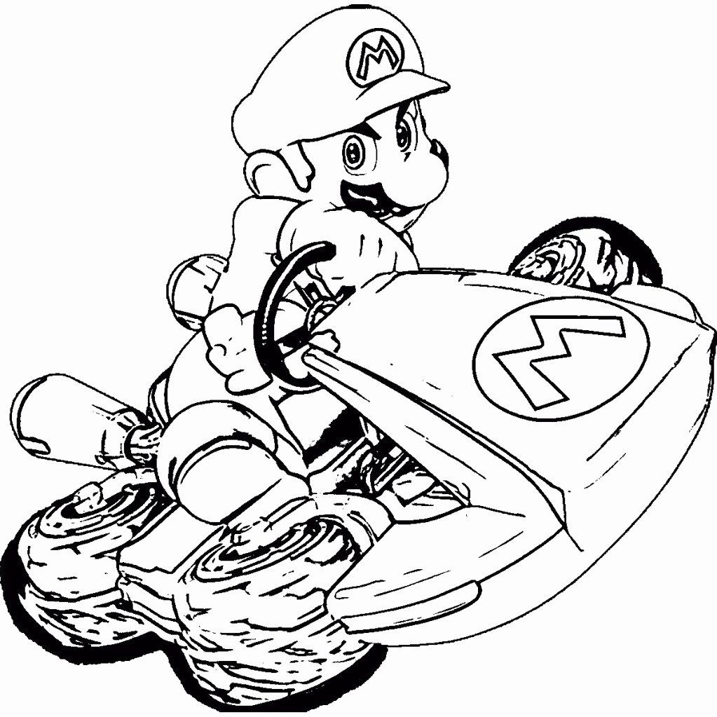 Mario Kart 8 Coloring Page Luxury Ausmalbilder Mario Kart Frisch Super Mario Yoshi Mario Coloring Pages Super Mario Coloring Pages Coloring Pages