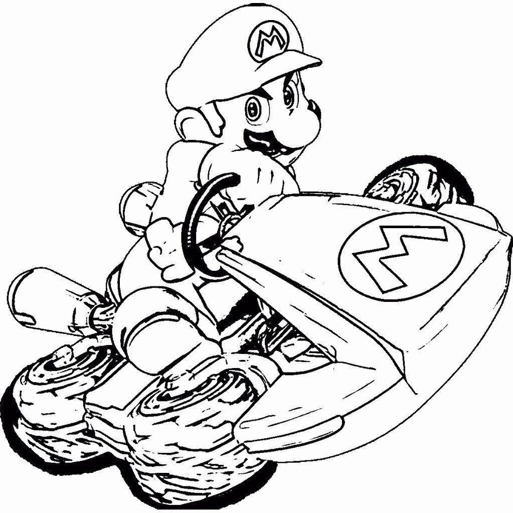 Mario Kart 8 Coloring Page Luxury Ausmalbilder Mario Kart Frisch