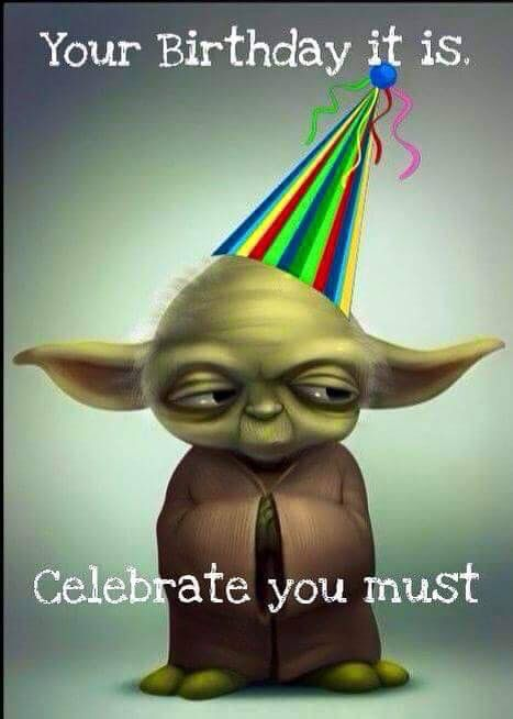 Funny Meme Birthday Wishes : Yoda birthday ha has and other funnies