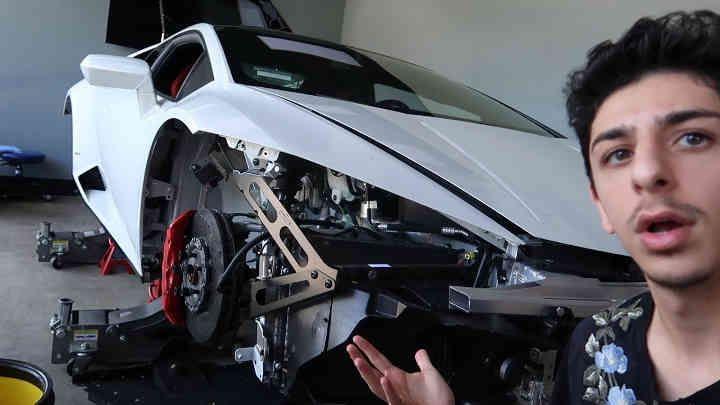 Faze Rug They Destroyed My Lamborghini Vloggerzilla Lamborghini Destroyed Youtube
