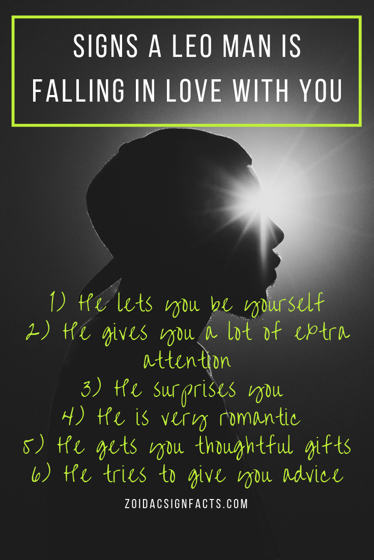 Signs a Leo man is falling in love with you | Leo men, Leo
