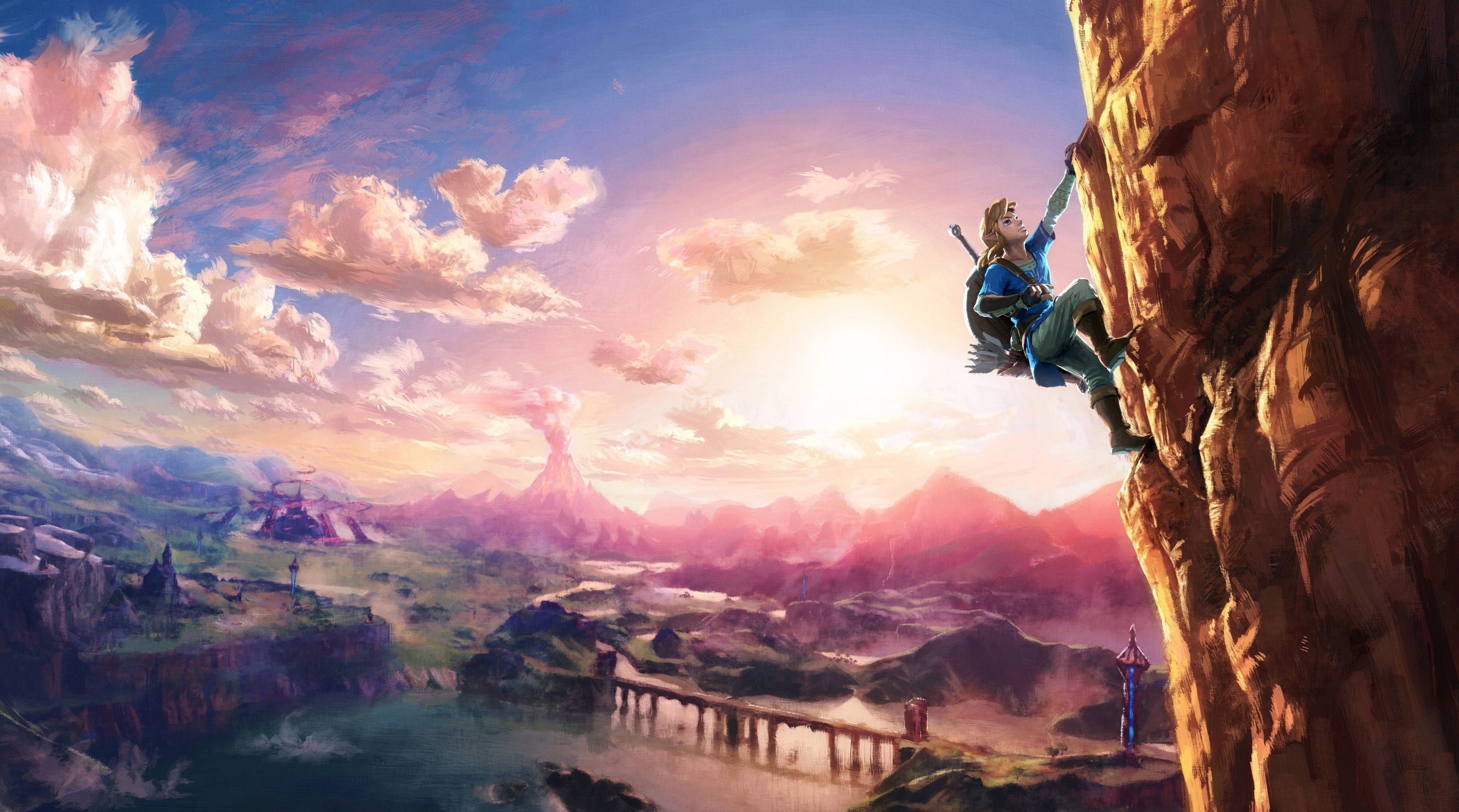 3840x2138 The Legend Of Zelda Breath Of The Wild 4k Computer Wallpaper Desktop Background Legend Of Zelda Legend Of Zelda Breath Breath Of The Wild