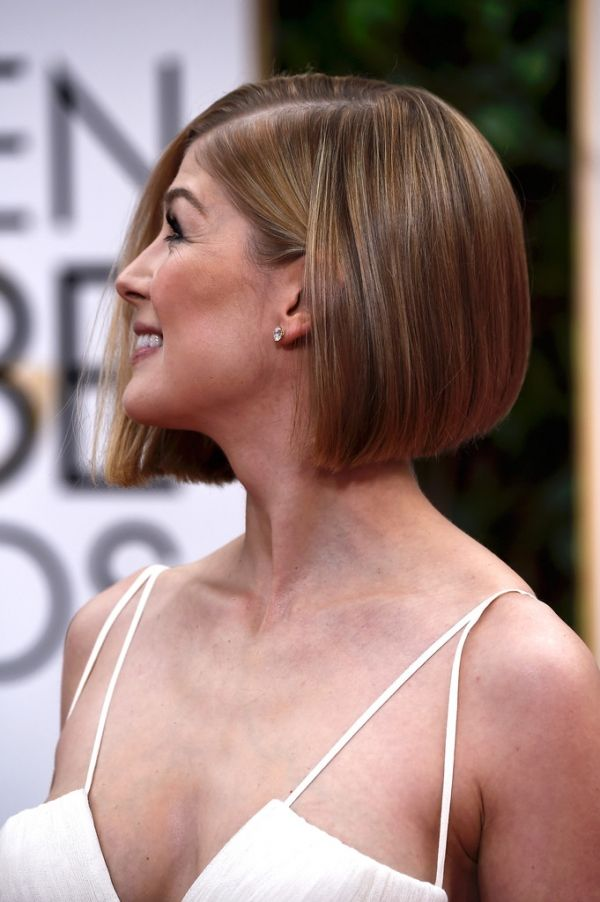 Picture Of Rosamund Pike Hairstyle Rosamund Pike Short Hair Styles
