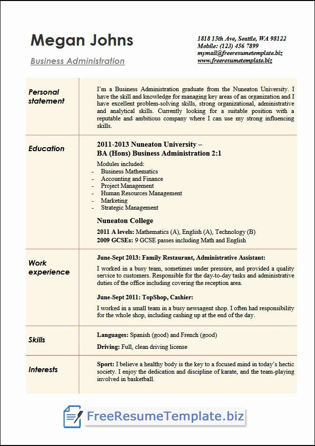 23 business administration resume examples in 2020