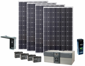 Earthtech Products Max 1800 Watt Solar Generator With 1060 Watts Of Solar Power For Home And Off Grid Back Up Power Solar Panels Solar Solar Heating