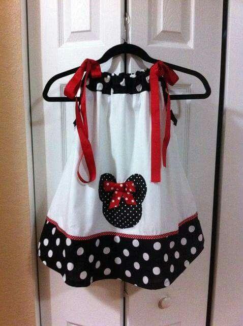 Minnie pillowcase dress | kids dresses | Pinterest | Nähen