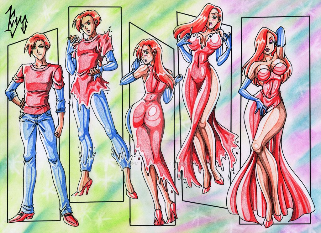 Commission For Elcarlo42  Fantasy  Jessica Rabbit, Tg -8953