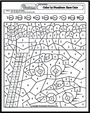 This page has a bunch of color by number sheets | COLORING BY NUMBER ...