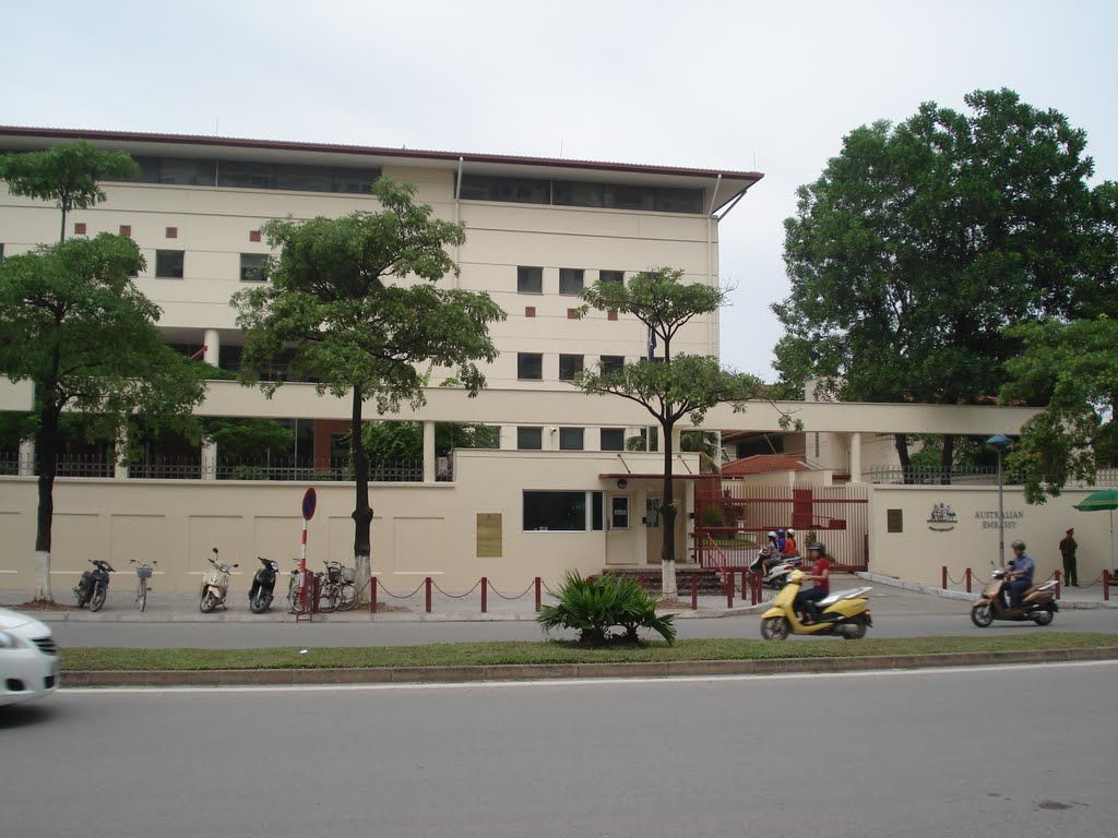 Australian Embassy Australian Embassy Hanoi Embassies And High Commissions House