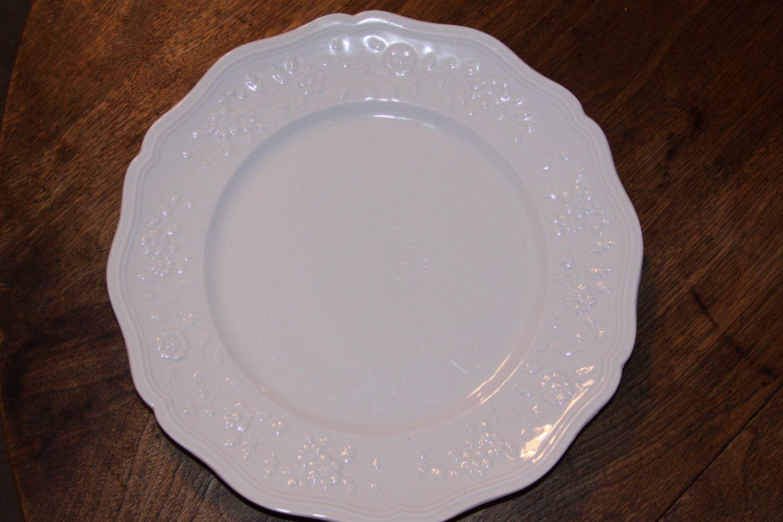French Limoges Ceralene Bone China Hawthorn Pattern Dinner Plate ...