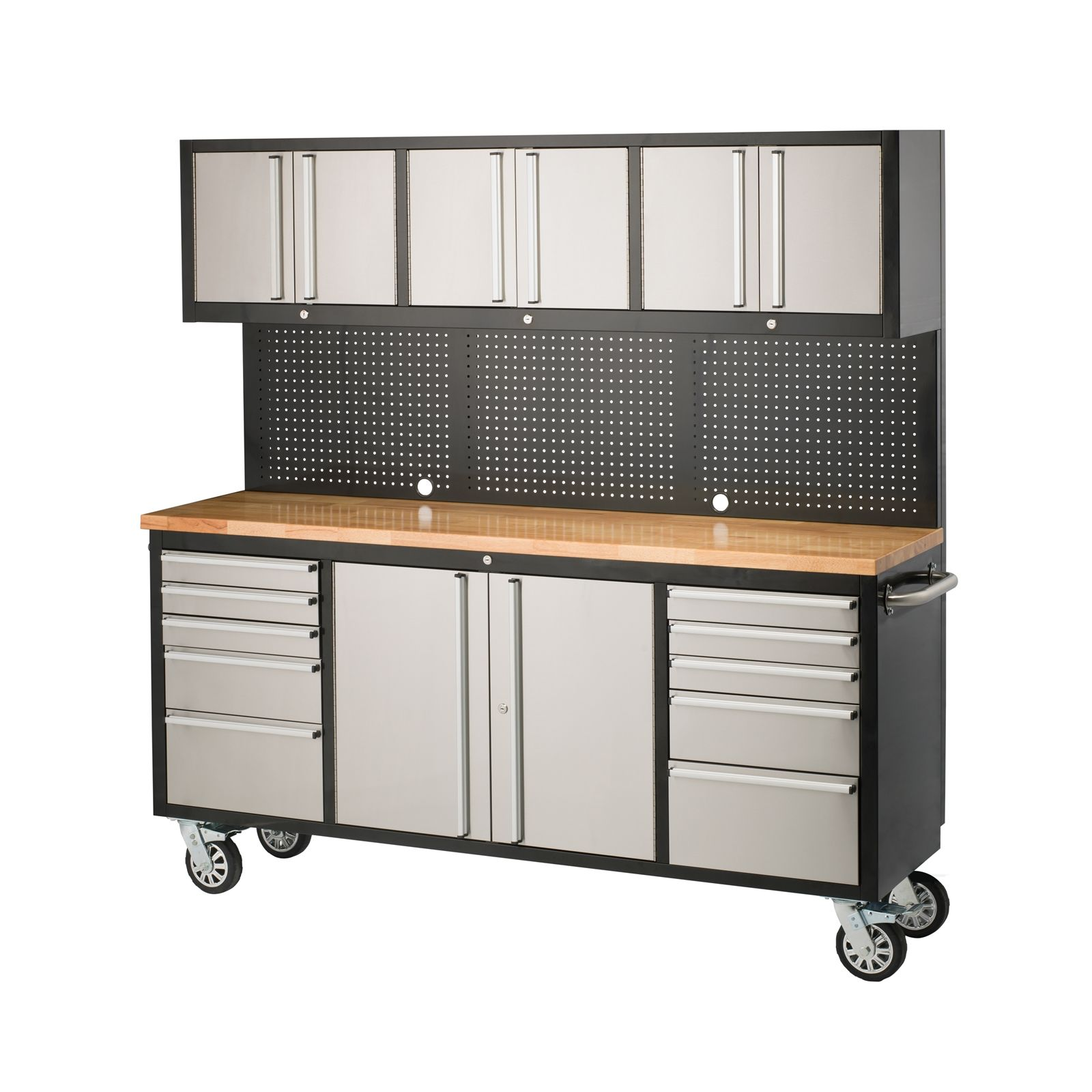 Sandleford 1835 x 523 x 1870mm Ultimate Workstation Trolley | Stuff ...