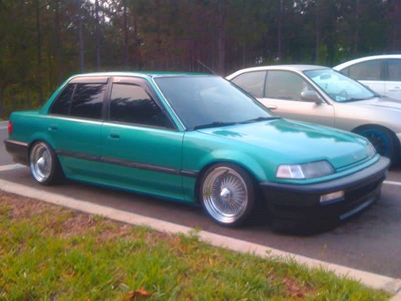 Fsft 91 Honda Ef Sedan Slammedflush Come See Honda Civic