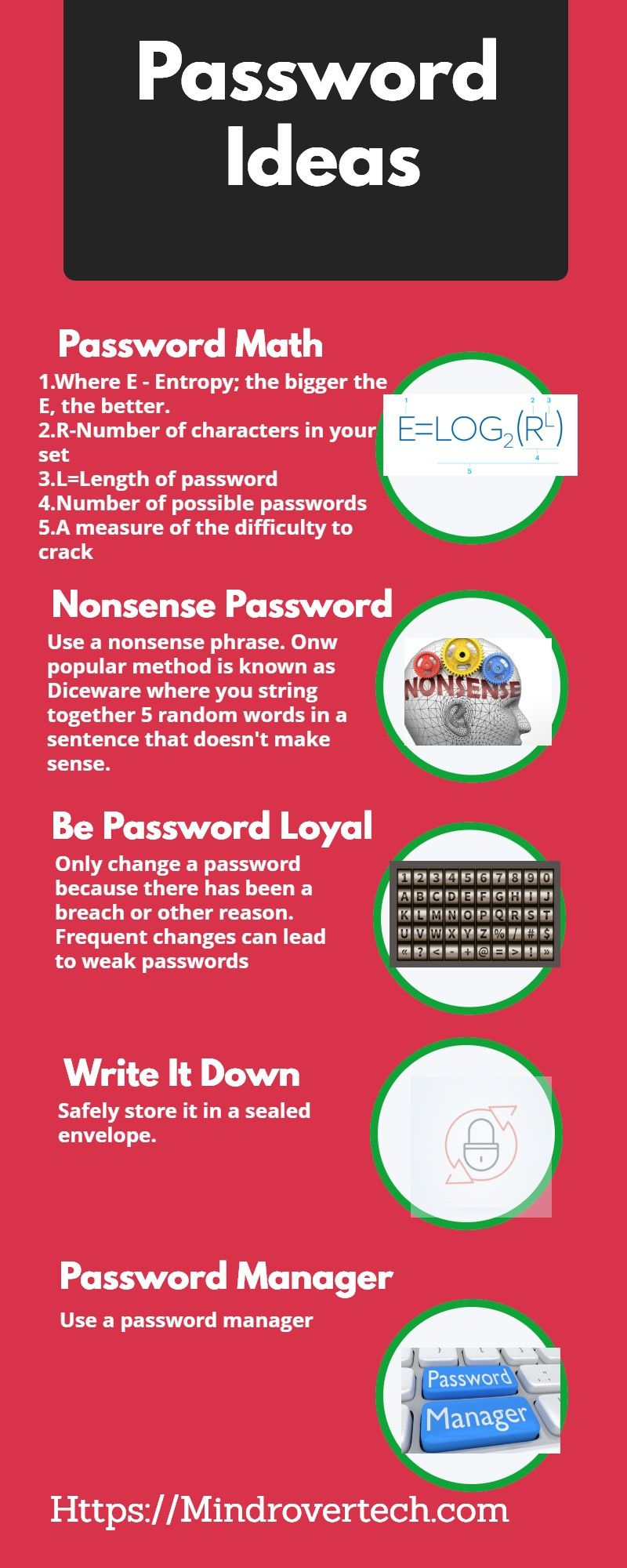 Ideas for a strong password in 2020 (With images