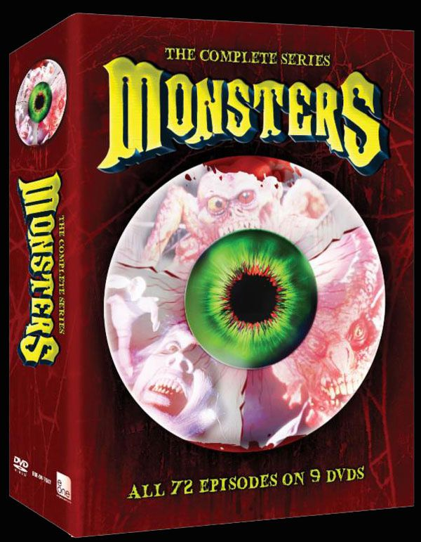 Official Artwork for the Monsters DVD