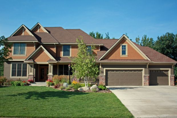 Craftsman Style House Plan - 4 Beds 2.5 Baths 3074 Sq/Ft Plan #51-443 Front Elevation - Houseplans.com