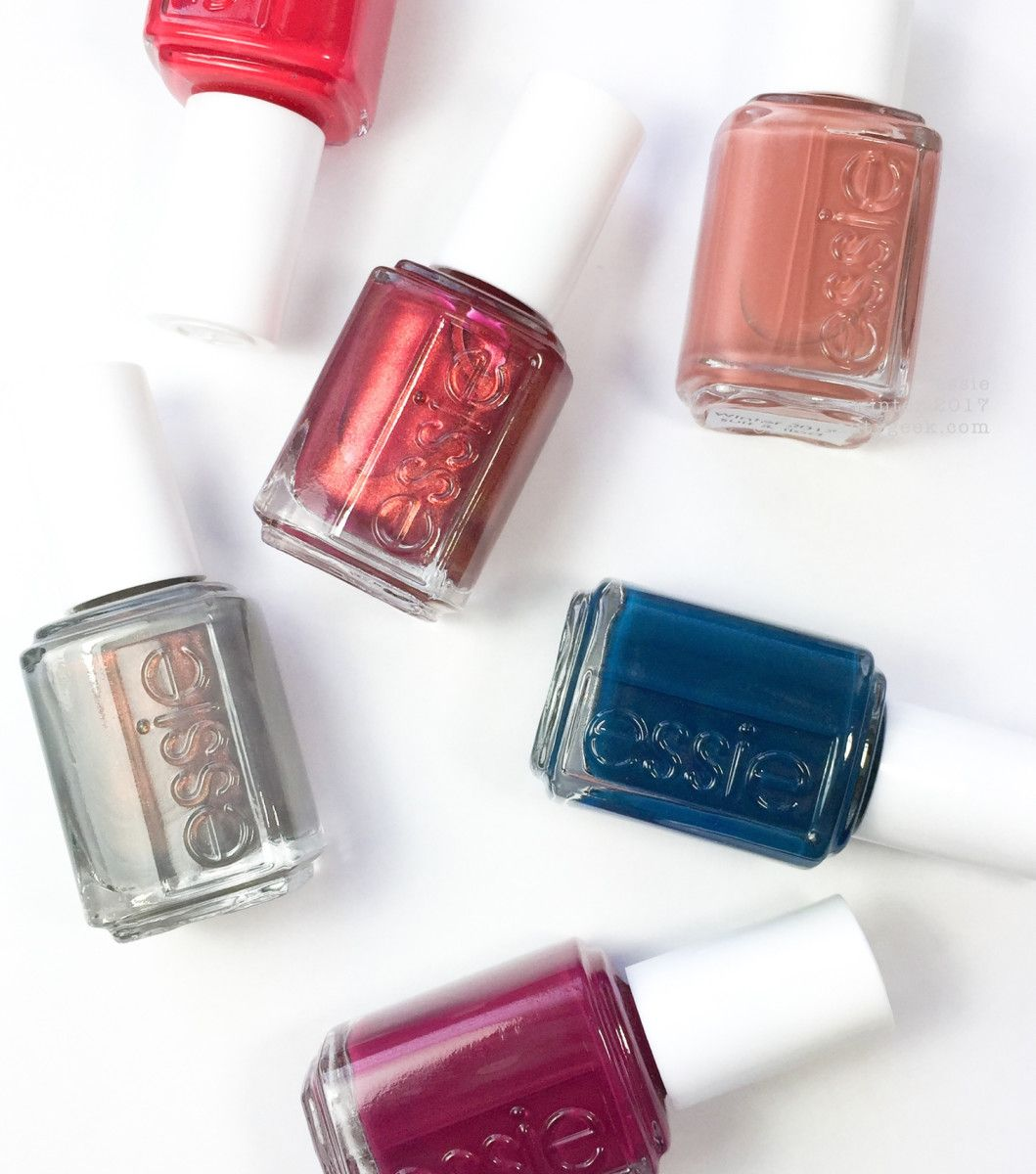 ESSIE WINTER 2017 SWATCHES & REVIEW | Winter 2017, Swatch and Nail ...