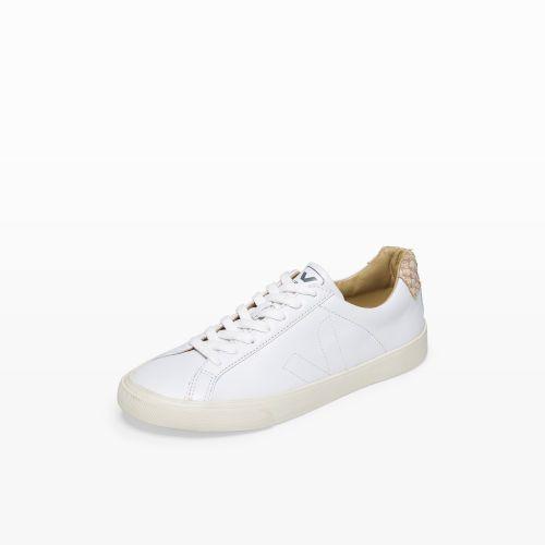 ¿Cómo máquina Fusión  Veja Esplar Tilapia | Shoe brands, White sneaker, Club monaco