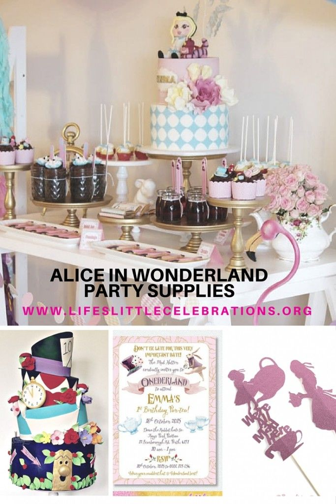 Exceptional Alice In Wonderland Party Supplies Blog Post   Lifeu0027s Little Celebrations