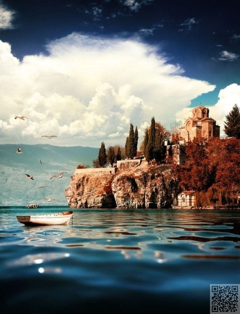 3 Ohrid Republic Of Macedonia 33 Cliffside Towns Clinging On To Life Travel Medieval In 2020 Places To Travel Places To Visit Macedonia