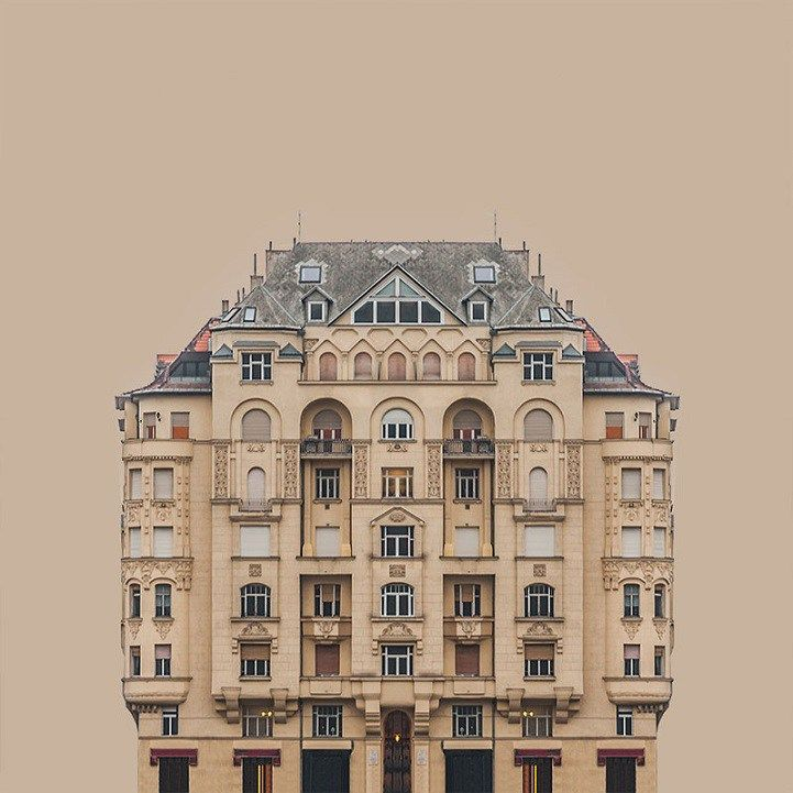 Symmetry and architecture go hand in hand, as buildings require that natural balance in everything from layout to design elements. Hungarian artist Zsolt Hlinkaexplores this concept with his serie…
