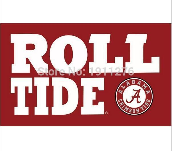 purchase cheap 2f127 12d53 Alabama Crimson Tide flags ROLL TIDE 90x150cm polyester digital print  banner with 2 Metal Grommets 3x5ft  Cubs  MLB  Dubnation  Raiders