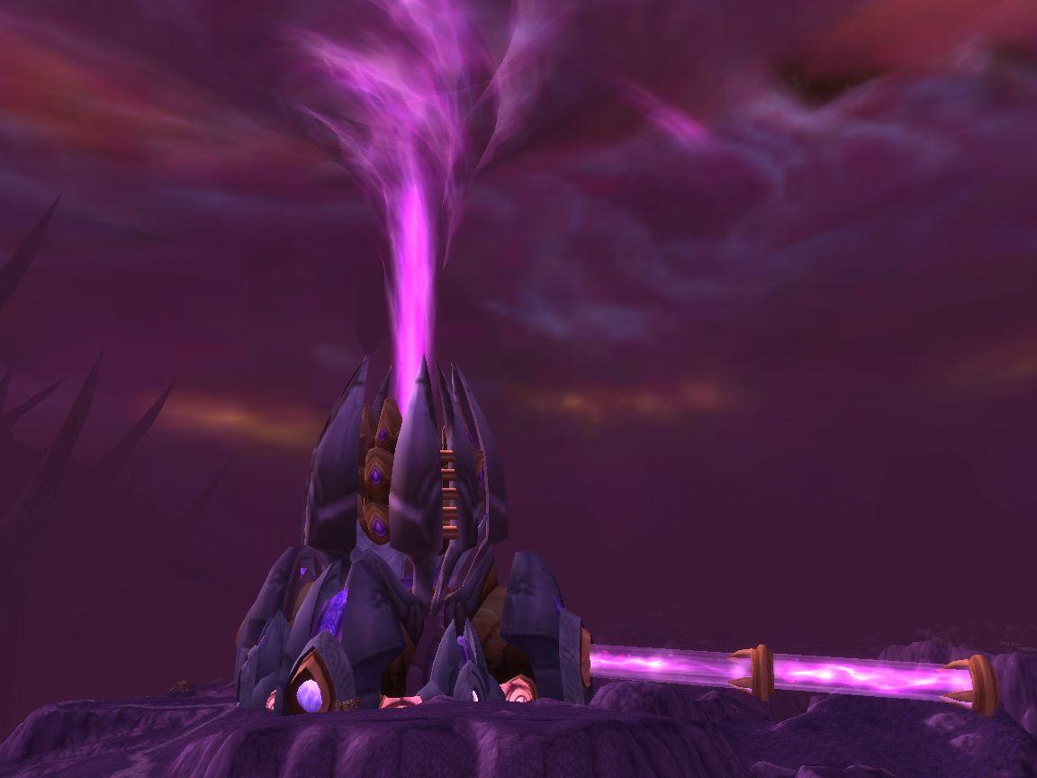 Netherstorm Outlands Fantasy World World Of Warcraft Warcraft