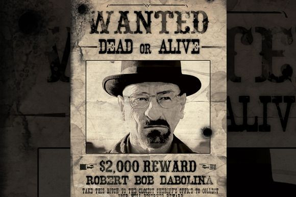 Check out Old Western Poster  - free printable wanted poster