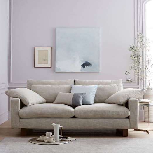 """West Elm Home Furnishings Store By Mbh Architects: Harmony Down-Filled Sofa (76"""")"""