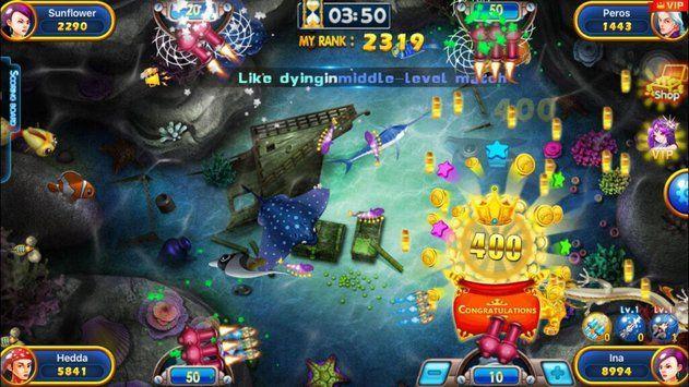Fishing War Battle Of Fish Game Tembak Ikan Untuk Android Ikan Game Android
