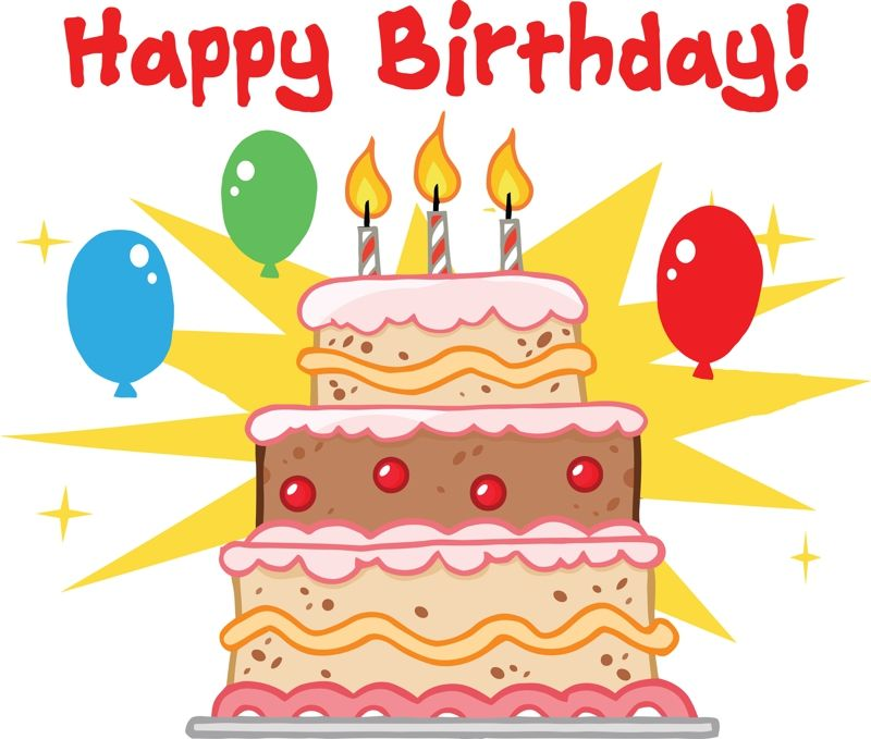 Birthday Cake Images With Cartoon Character : cartoon birthday cake clipart happy birthday cake ...