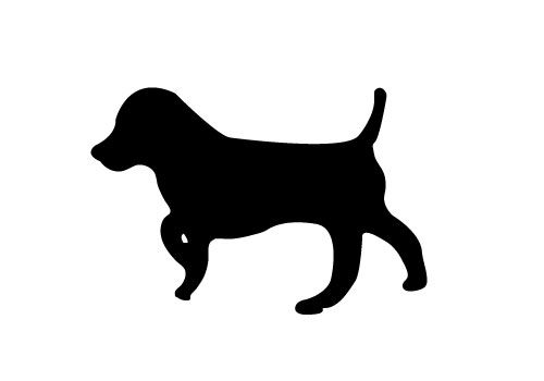 Free Dog Silhouette Vector Download Here Dog Silhouette