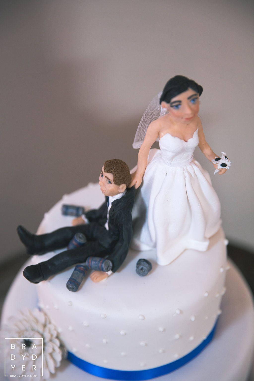 Is this the best wedding cake topper you've ever seen?