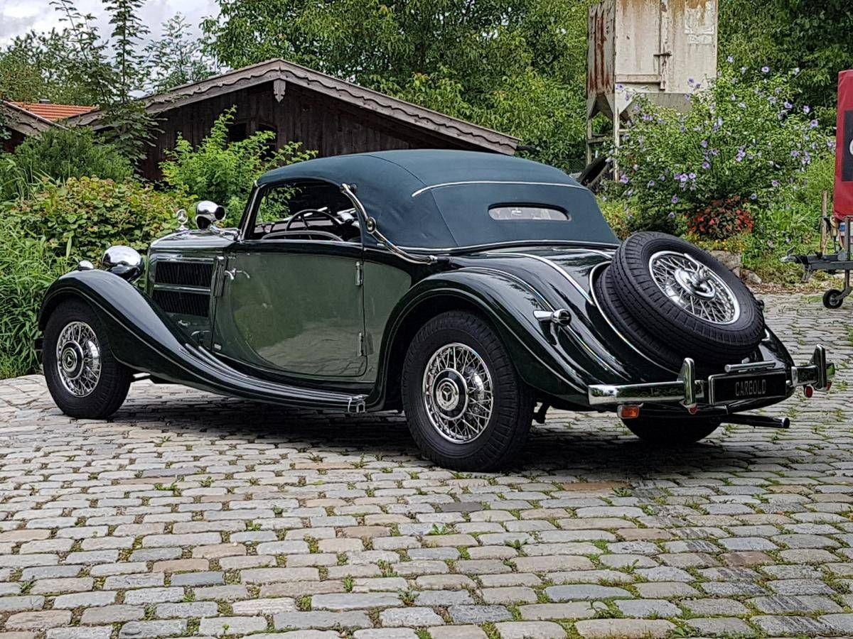 1938 Mercedes Benz 320 For Sale 2398127 Hemmings Motor News Benz Cabriolets Mercedes