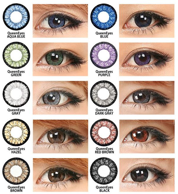 Color Contacts For Dark Eyes Colored Eye Contacts Colored Contacts Contact Lenses Colored