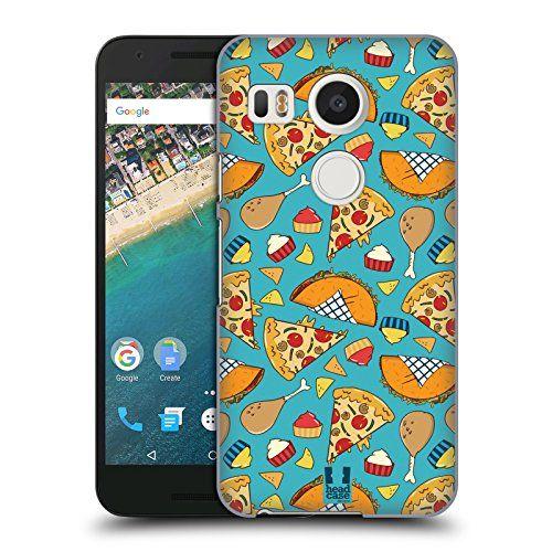 Head Case Designs Pizza Et Taco Fast Food – Motifs Étui Coque D'Arrière Rigide Pour LG Nexus 5X: Produit officiel Head Case Designs…