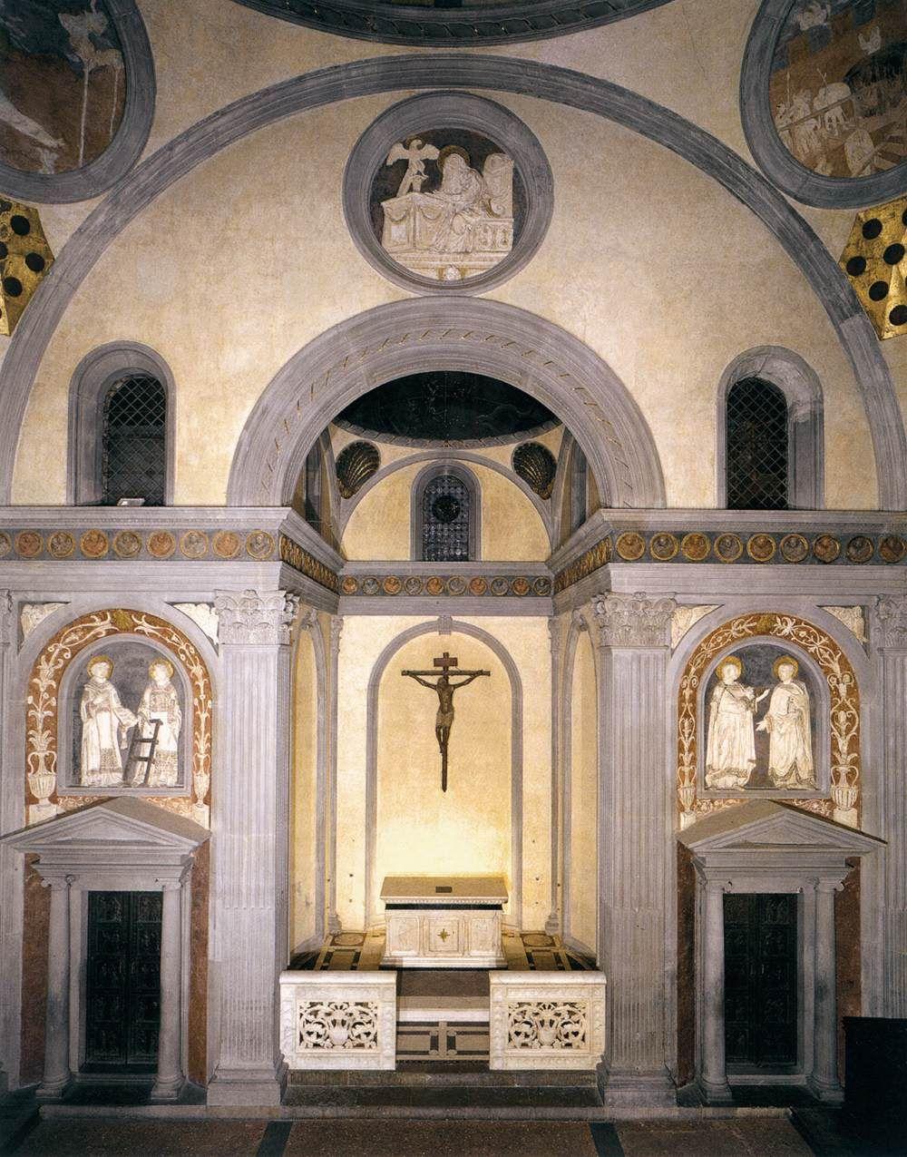 Old Sacristy 1418-28 | San Lorenzo, Florence | Filippo ...