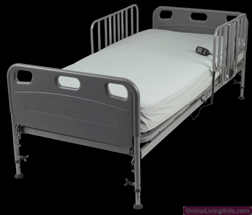 Drive Medical 15560PKG Competitor SemiElectric Bed