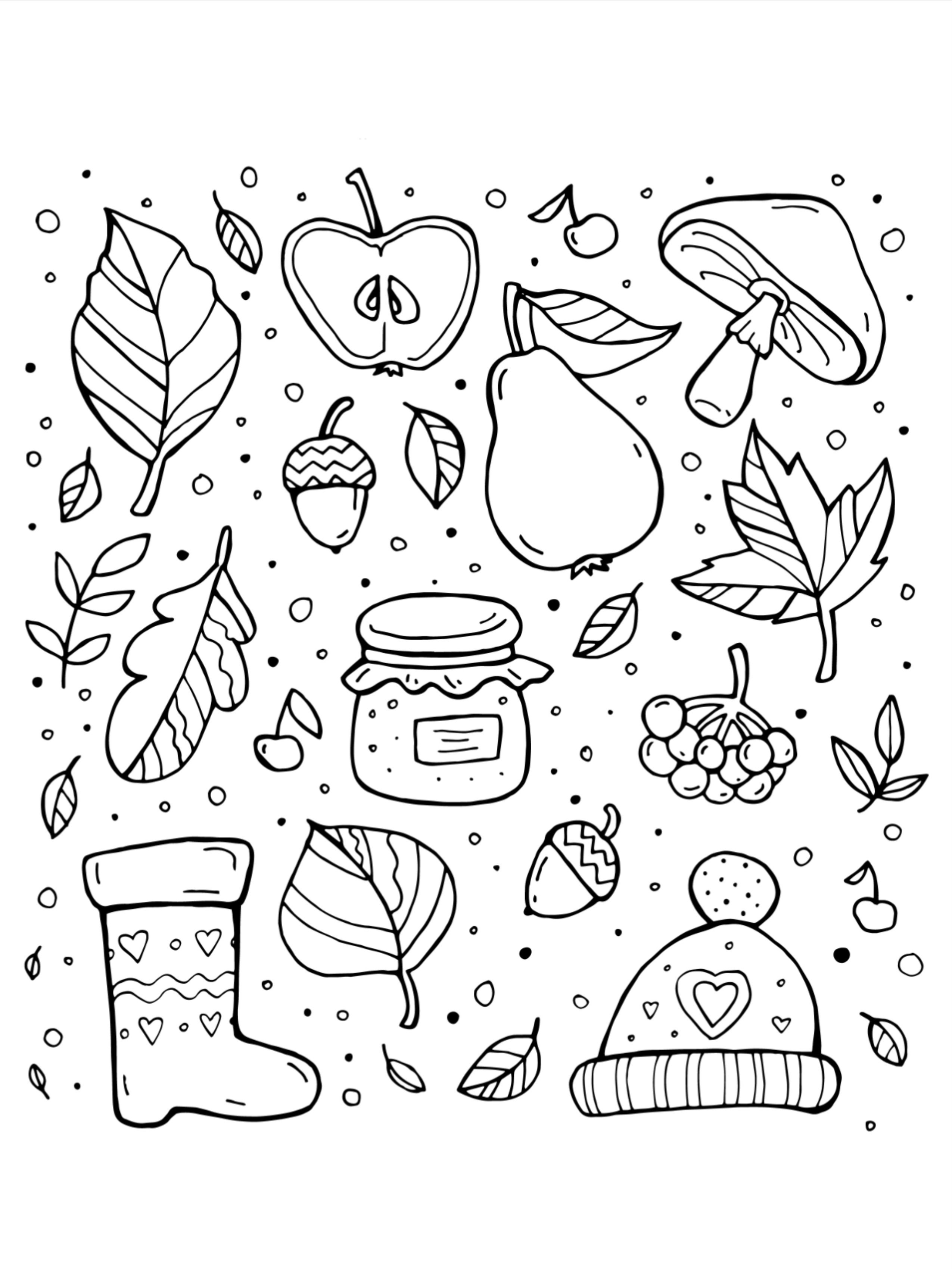 50 Fall Coloring Pages For Kids Fall Coloring Pages Coloring Pages For Kids Printables Free Kids